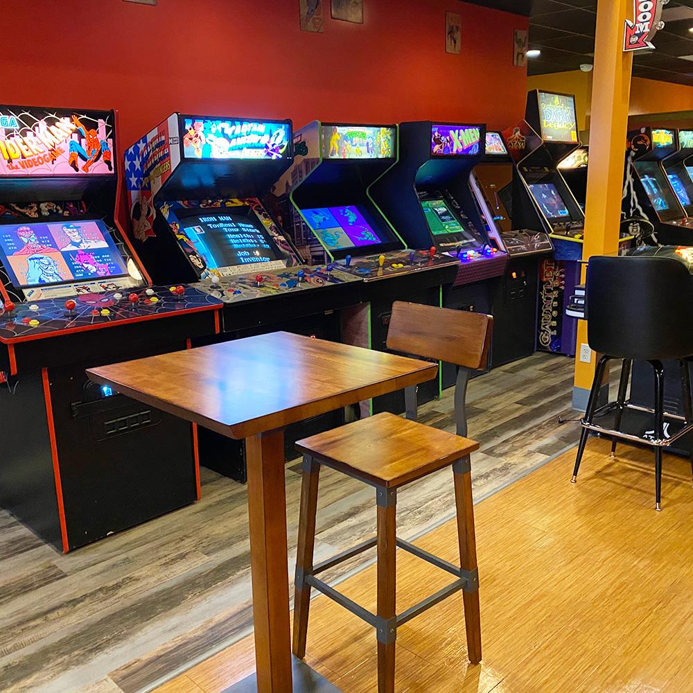 Joysticks Arcade & Eatery - Arcade List